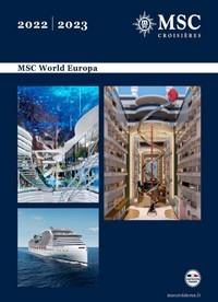 MSC World Europa 2022-2023