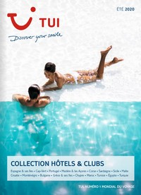 CLUBS HOTELS TUI ETE 2020